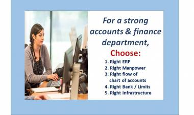 Key Checks for a strong accounts & finance department in hotel industry